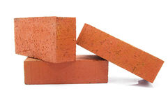 Brick stack Stock Photography
