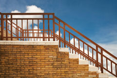 Brick Stair Stock Image