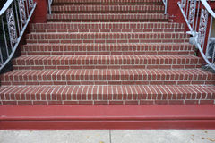 Brick Staircase Stock Images