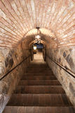 Brick Stairs. Going into a cellar Stock Image