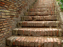 Brick Stairs Stock Images