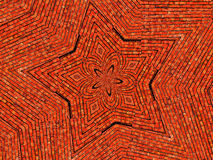 Brick Star Background wallpaper Stock Photos