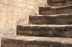 Brick Steps Royalty Free Stock Image