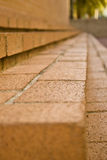 Brick steps Royalty Free Stock Photo