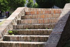 Brick steps Royalty Free Stock Photo