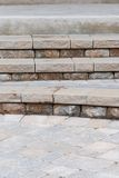 Brick steps Royalty Free Stock Photos