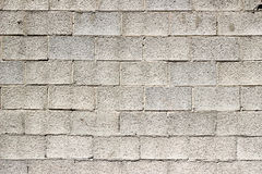 Brick stone gray wall background rough texture. Royalty Free Stock Image