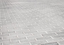 Brick stone street road. Stock Images