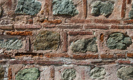 Brick stone wall background Royalty Free Stock Images