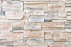 Brick stone wall material Stock Photos