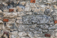 Brick and stone wall Royalty Free Stock Image