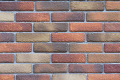 Brick stone wall seamless background and texture Stock Photos