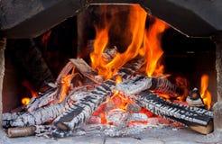 Brick stove Stock Image