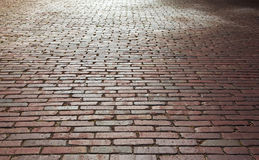 Brick street Royalty Free Stock Images
