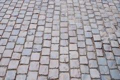 The brick street Stock Photography
