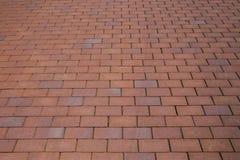Brick street road, pavement texture Stock Image