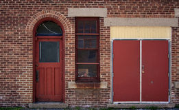 Brick structure Royalty Free Stock Photography