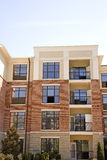 Brick and Stucco Apartments Stock Photo