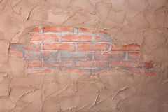 Brick and Stucco Texture Royalty Free Stock Images