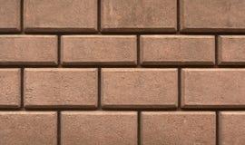 Brick stylized wall texture Stock Image