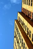 Brick tall building Stock Photography