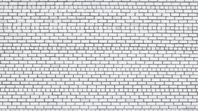 brick tekstury białe ściany Zdjęcie Stock