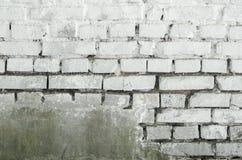 brick tekstury białe ściany Zdjęcia Stock