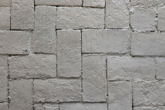 brick tekstury białe ściany Obraz Royalty Free