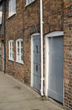 Brick terraced houses in Hungerford. UK Stock Images