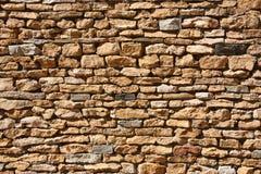 Brick texture. Brick wall texture in the hard light Royalty Free Stock Photos