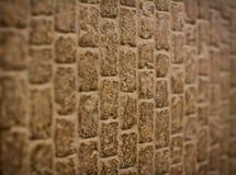 Brick Texture. Brown brick texture with medium sized bricks and light brown lines separating them Stock Photo