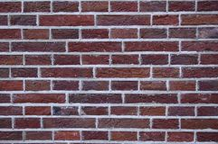 Brick texture. Close up picture of nicely aligned brick texture royalty free stock photos