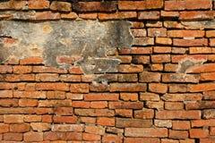 Ancient brick fence Royalty Free Stock Photo