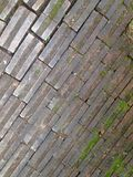 Brick texture. Brick floor texture Stock Image