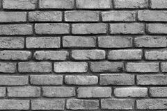 Brick texture of gray color closeup. Grooved brick texture of gray color closeup for background and for wallpaper Royalty Free Stock Photo