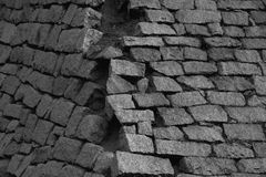Brick texture. Royalty Free Stock Images