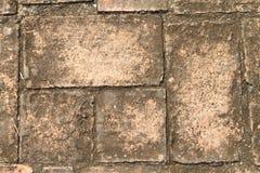 Brick texture. Old brown brick texture in Thailand Stock Photo