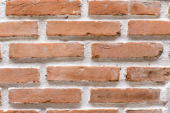 Brick texture. The orange brick texture background Royalty Free Stock Photography