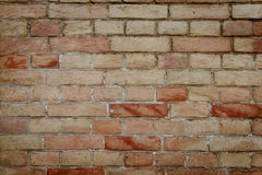 Brick texture with scratches and cracks. Texture. Brick. It can be used as a background royalty free stock photography