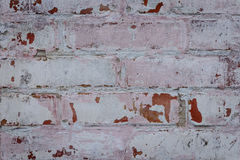 Brick texture with scratches and cracks. Texture. Brick. It can be used as a background royalty free stock photos