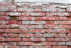 Brick texture with scratches and cracks. Texture. Brick. It can be used as a background royalty free stock photo