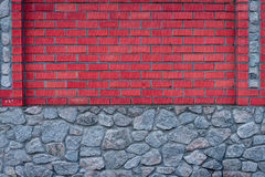 Brick texture with scratches and cracks Royalty Free Stock Images
