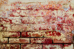 Brick texture with scratches and cracks. Texture. Brick. It can be used as a background stock photography