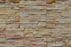 Brick texured wall. Textured of stone brick wall background Royalty Free Stock Photo