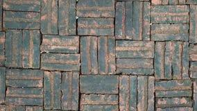 Brick tile background. Wet brick background Stock Photo