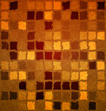 Brick tile orange with grunge Royalty Free Stock Image