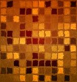 Brick tile orange with grunge Royalty Free Stock Image