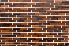 Brick tiles wall. A wall of false bricks made with tiles Stock Photo