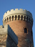 Brick tower Royalty Free Stock Images
