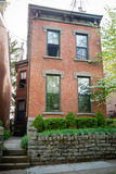 Brick Townhouse Royalty Free Stock Photos